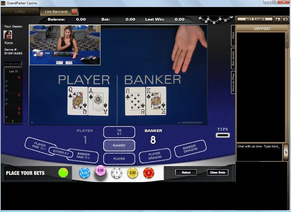 Roulette live online usa